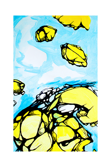 Rock Yellow and Blue